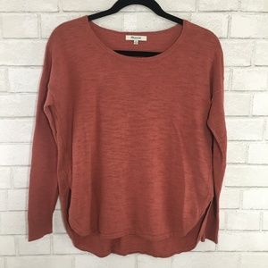 Madewell Clearweather Pullover Sweater, Size XS